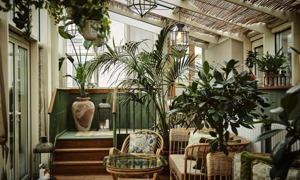 Boutique Hotel Sanders Copenhague Jardin d'hiver