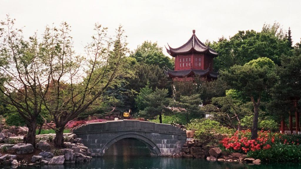 La Jardin botanique de Montréal est à visiter absolument