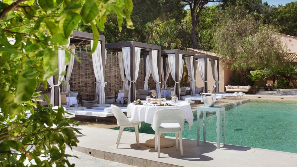Le MUSE Saint-Tropez, l'un des plus beaux hôtels spa de luxe de la Côte d'Azur