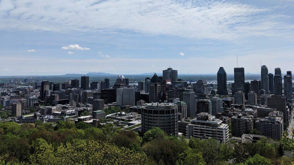 Le Mont-Royal, à Montréal