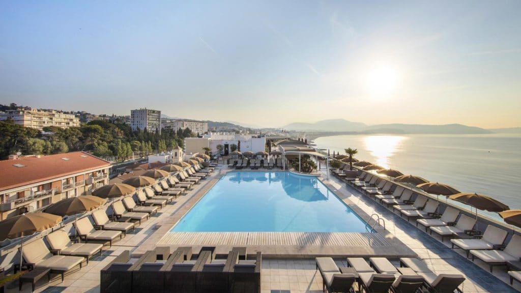 Le Radisson Blu à Nice, l'un des plus beaux hôtels 4 étoiles de Nice