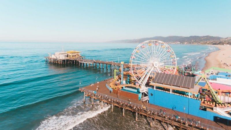 Santa Monica en Californie, aux USA