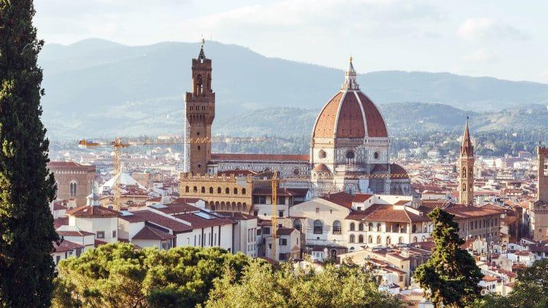 Florence, en Italie