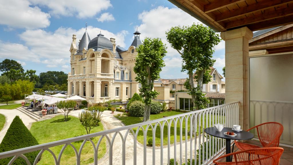 Grand Barrail Château Hotel Saint-Emilion Small Luxury Hotel France
