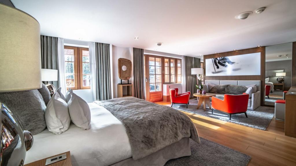 Hotel Le Strato Courchevel Small Luxury Hotel of the World