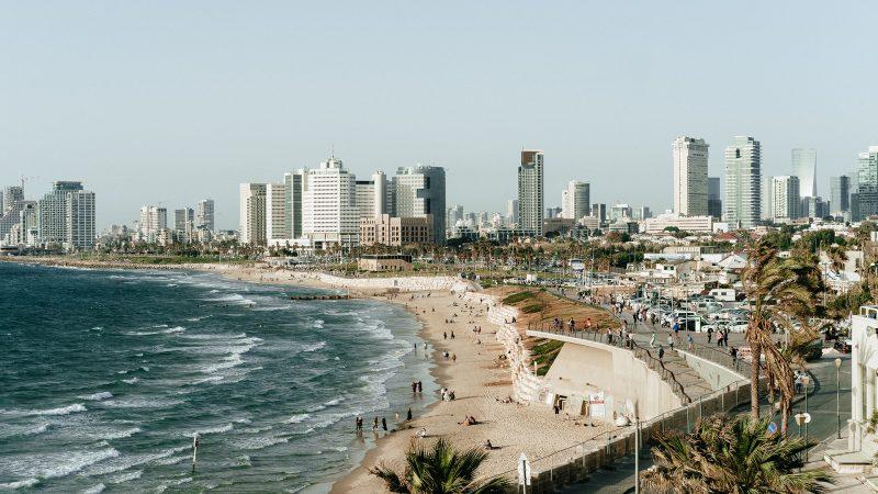 Tel Aviv, en Israël