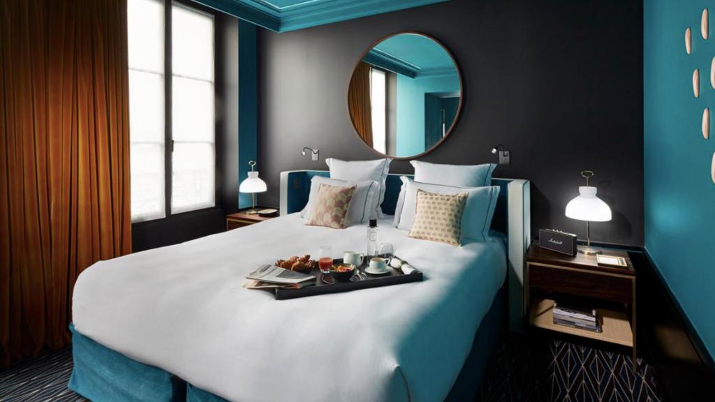 Chambre Hôtel Design Le Roch àParis