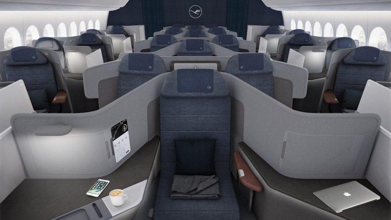 Classe Business de Lufthansa