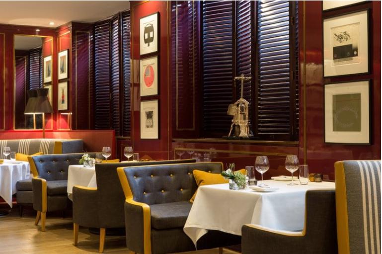 Balmoral Edimbourgh restaurant