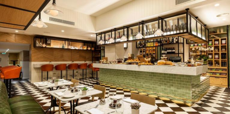 Indigo London Kensington restaurant