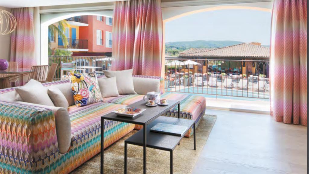 Hotel Byblos Saint-Tropez Chambres et Suites