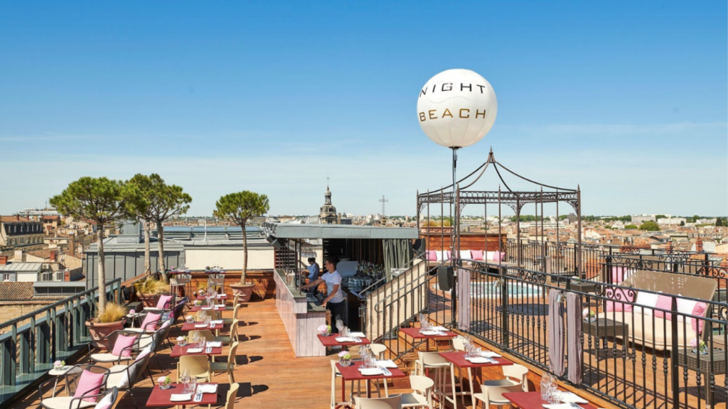 Hôtel L'InterContinental Bordeaux - Rooftop