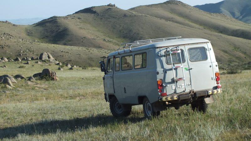 Mongolie, road trip