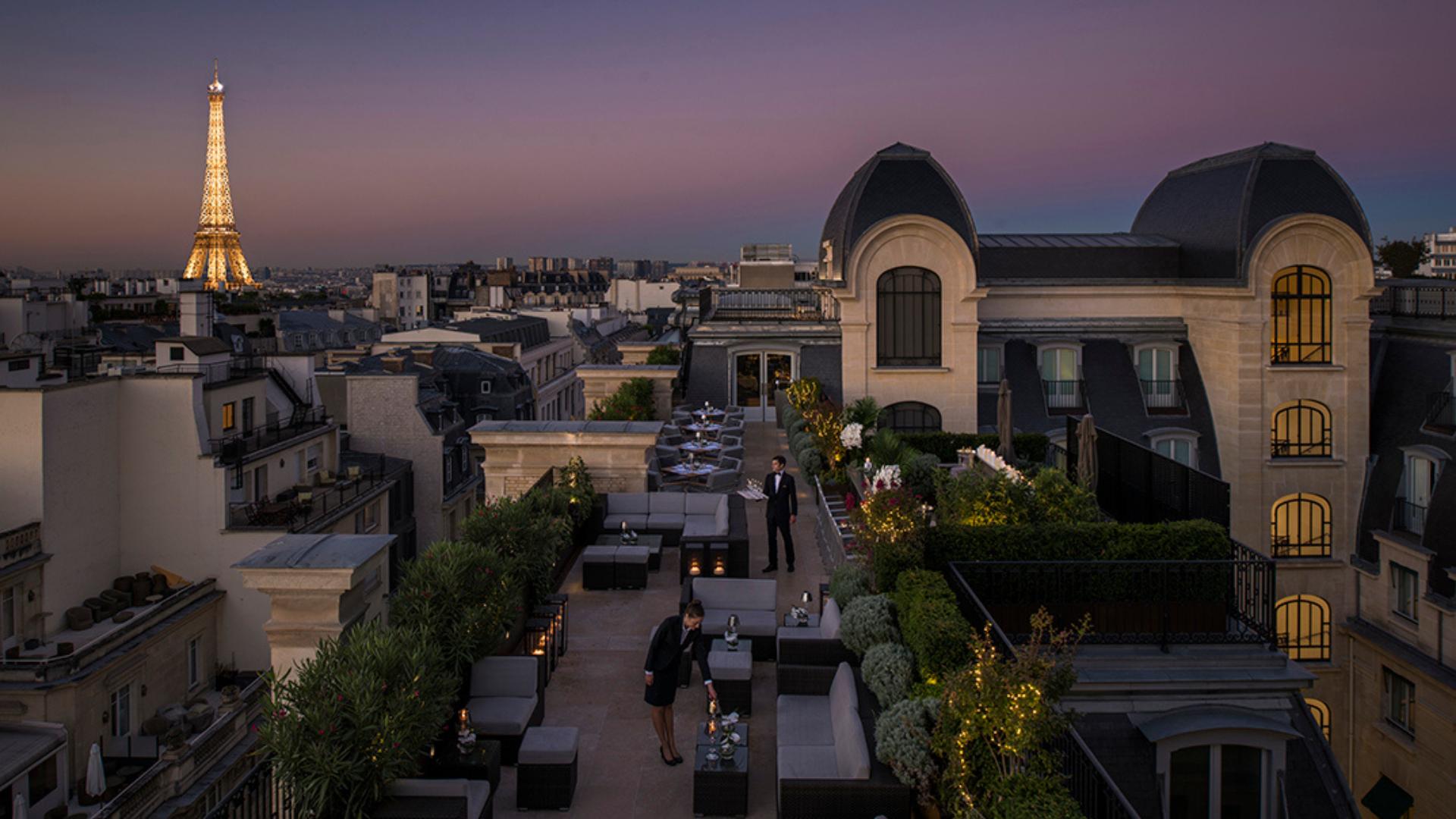 Rooftop Paris