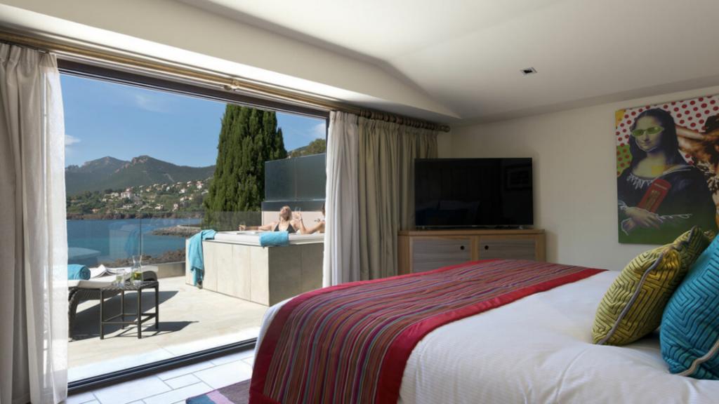 Villa Azur Tiara Miramar Beach Hôtel & Spa, Théoule-sur-Mer