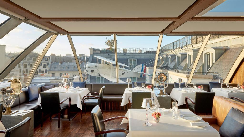 Restaurant L'Oiseau Blanc de l'hôtel The Peninsula Paris