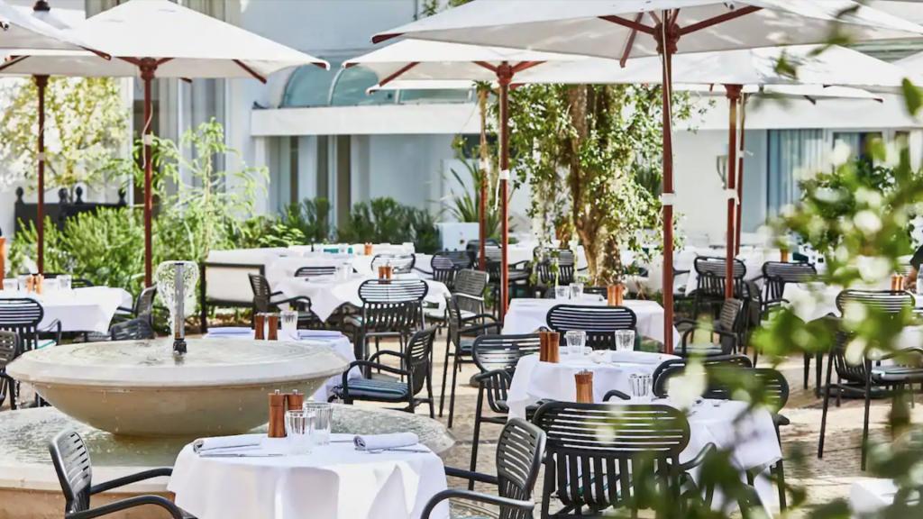 Restaurant Le Jardin du Martinez