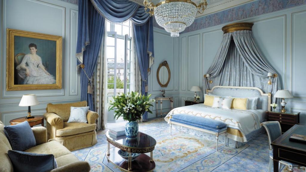Suite de l'hôtel  Shangri-La à Paris, L'Appartement Prince Bonaparte