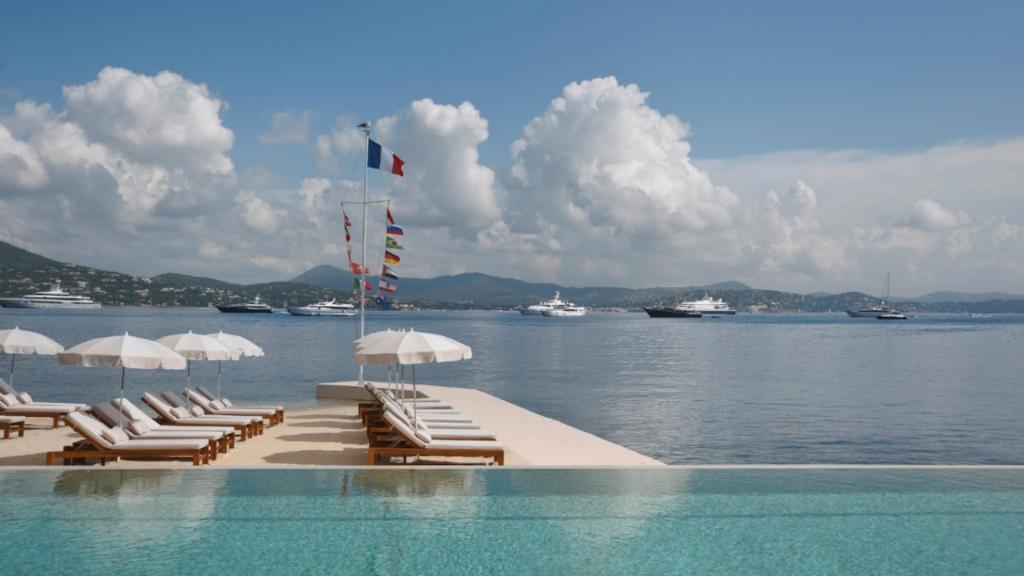 Hôtel Cheval Blanc St-Tropez Plage et Piscine