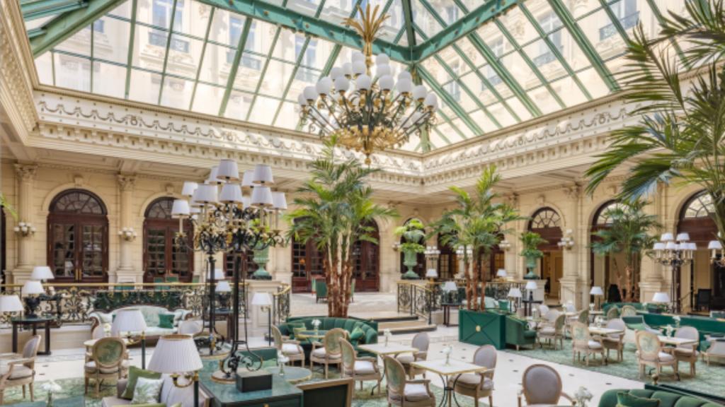 Restaurant InterContinental Paris Le Grand au pied de l'Opéra de Paris avec Terrasse