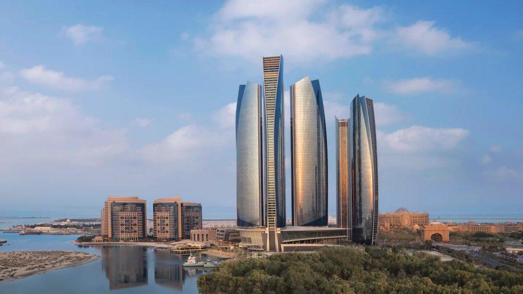 Abu Dhabi Etihad Türme