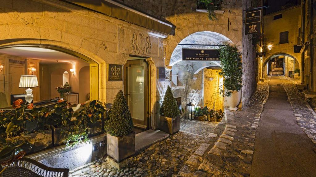 Le Saint Paul, Hôtel de luxe en Provence