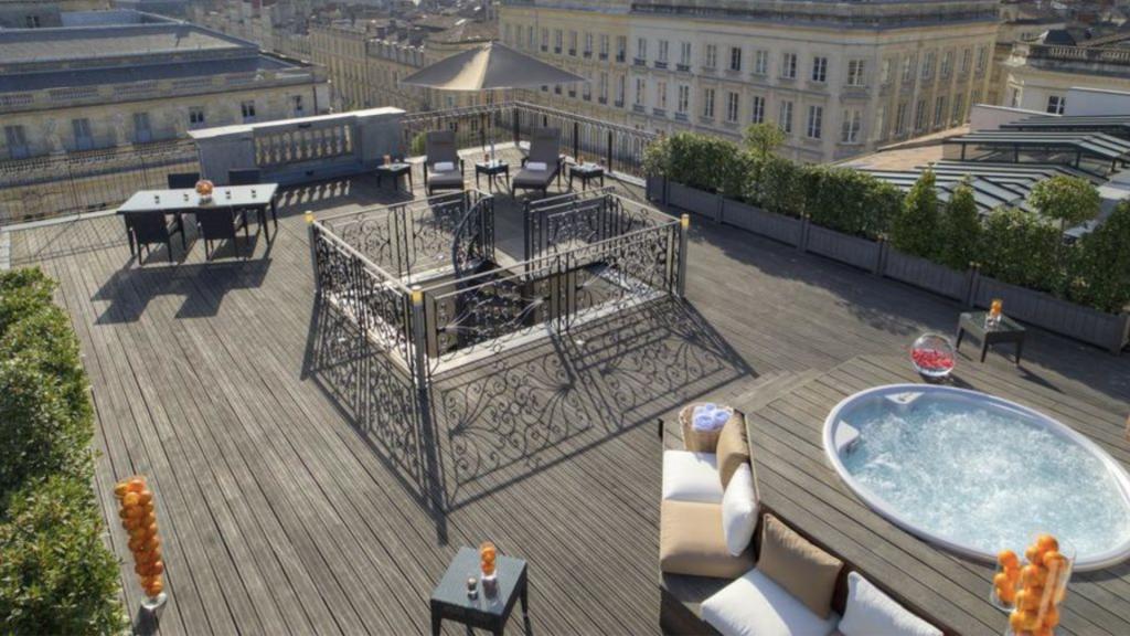 InterContinental Bordeaux – Le Grand Hôtel -  Suite Royale - Terrasse Jacuzzi