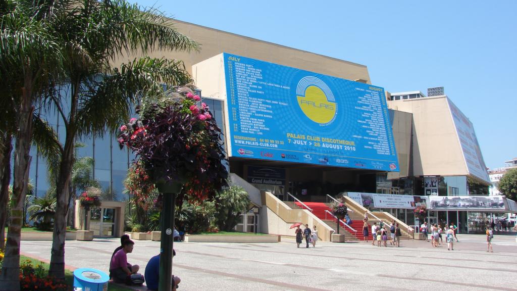 Palais des Festivals et des Congres, Cannes, Provence-Alpes-Côte d'Azur, France