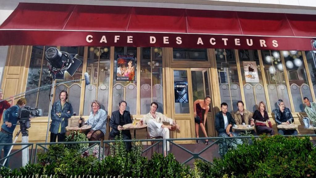CAFÉ DES ACTEURS - Les murs peints de Cannes