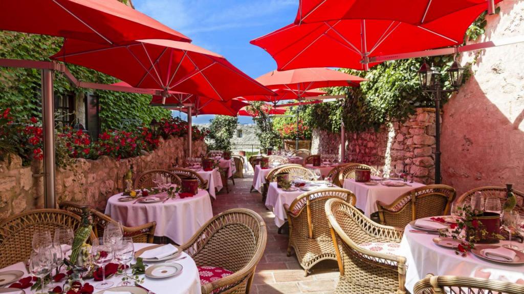 La Table du Saint Paul, Restaurant - Terrasse