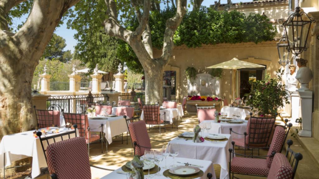 Restaurant Villa Gallici - Hôtel de luxe Aix-en-Provence