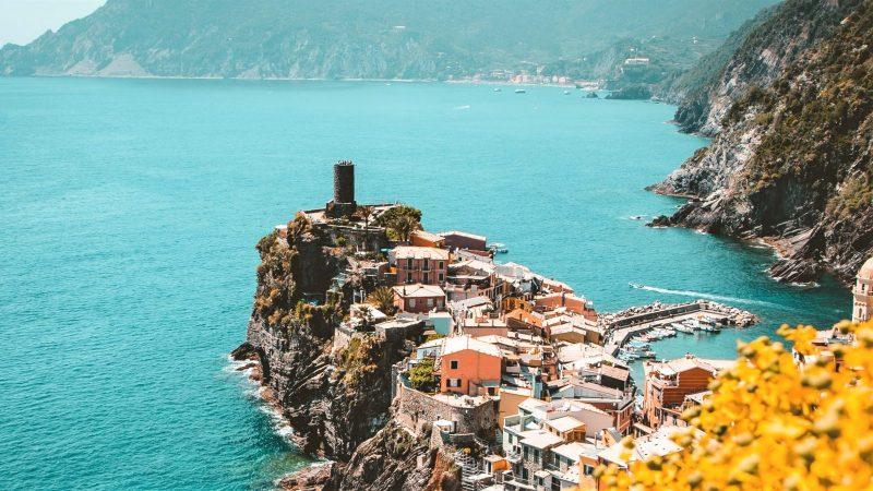 Cinque terre, en Italie