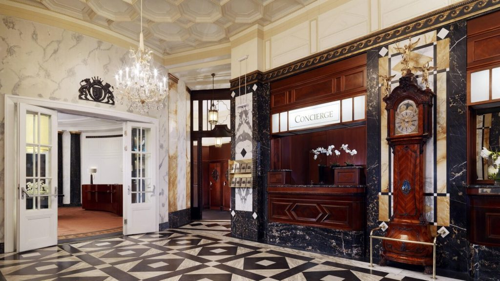 Hôtel Bristol de Vienne Lobby