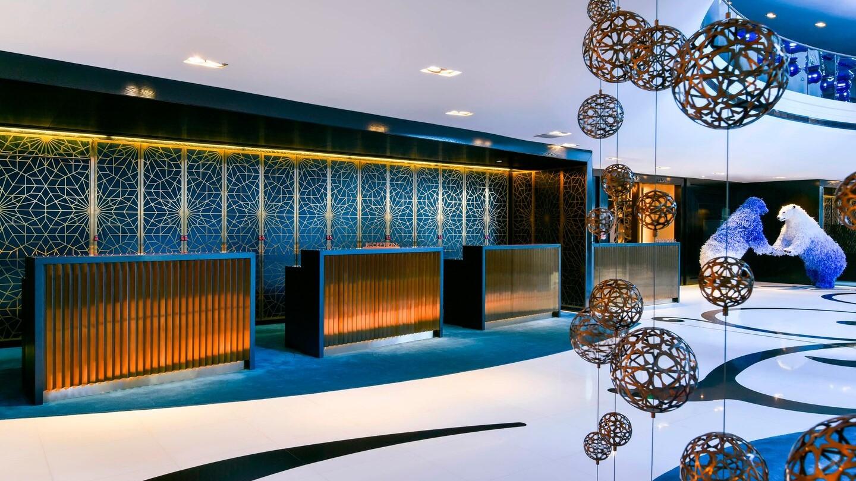Hôtel de luxe W Doha Quatar
