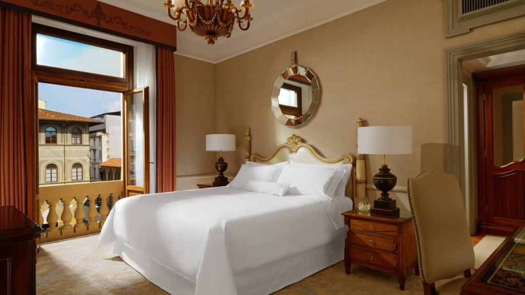 The Westin Excelsior, Florence - Chambre Deluxe