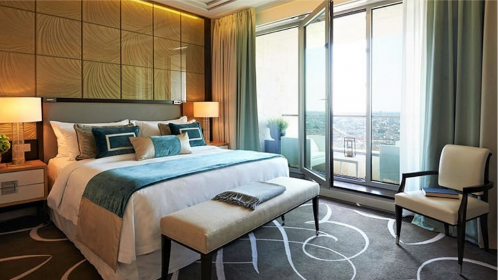 Waldorf Astoria Berlin - Chambre