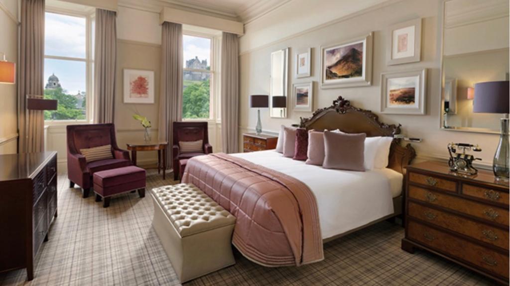 Waldorf Astoria Édimbourg - Chambre