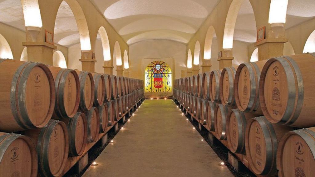 Château de Berne - cave à vins