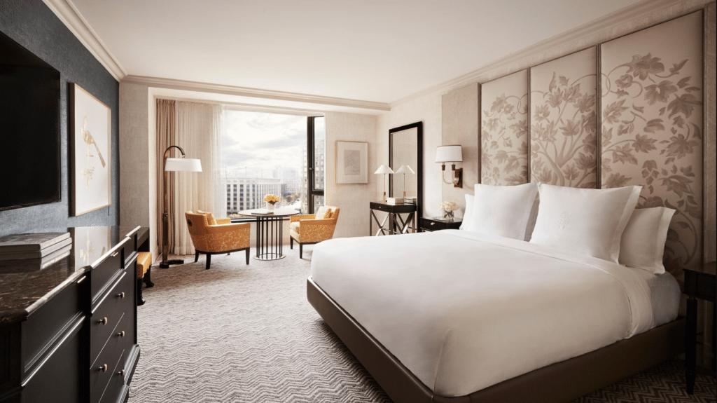 Four Seasons Hotel Boston Chambre