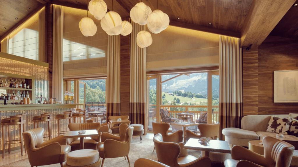 Four Seasons Megève Restaurant