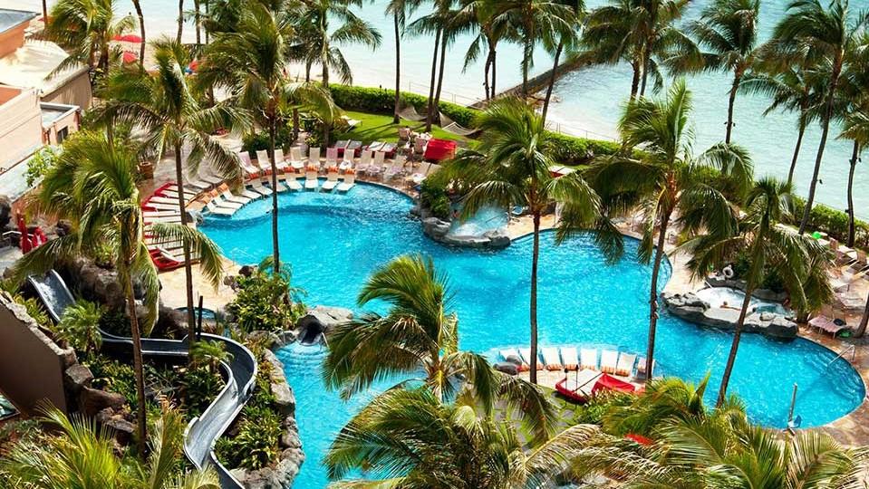 Hôtel The Royal Hawaiian, a Luxury Collection Resort, Waikiki - Piscine