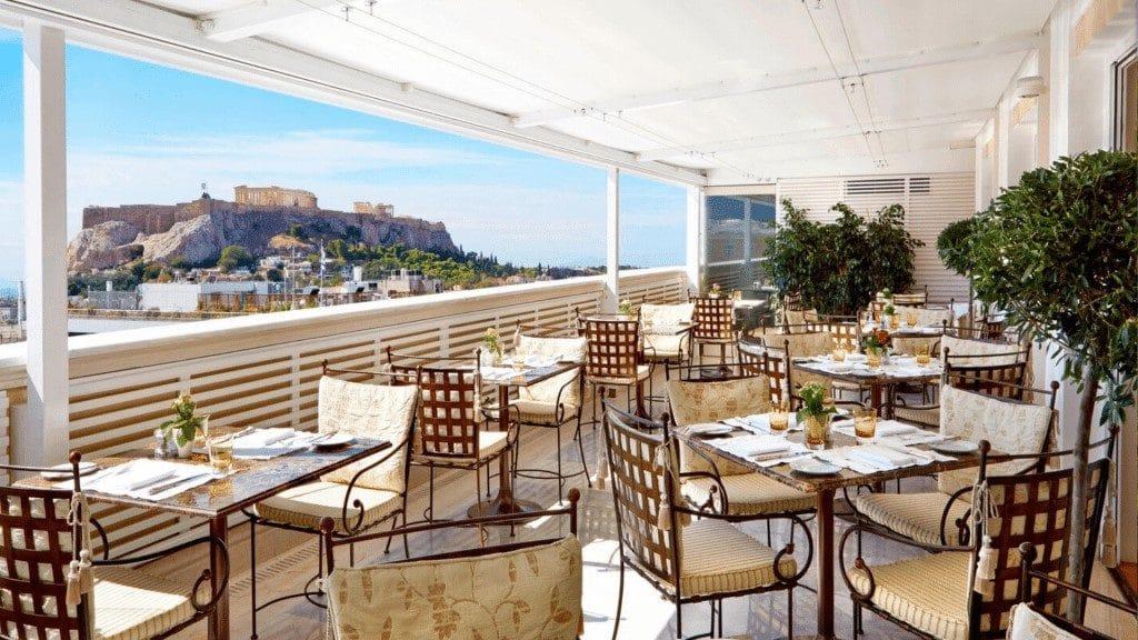 King George Hôtel de luxe Grèce