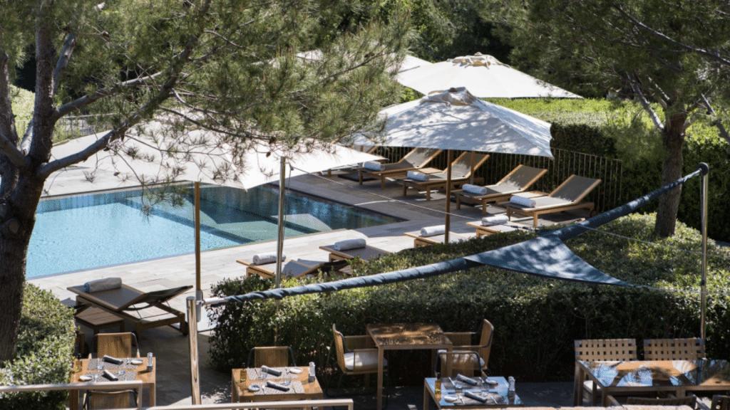 Le Pool Restaurant - La Réserve Ramatuelle