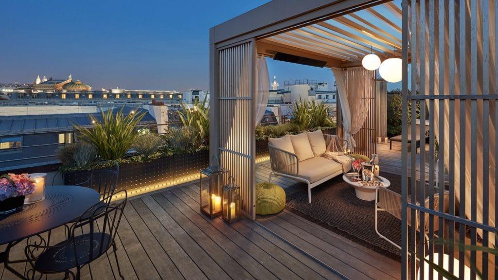 Mandarin Oriental Paris - penthouse