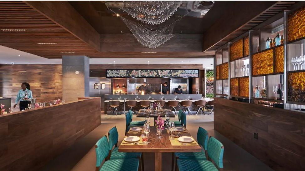 Hôtel Mandarin Oriental à Miami - Restaurant