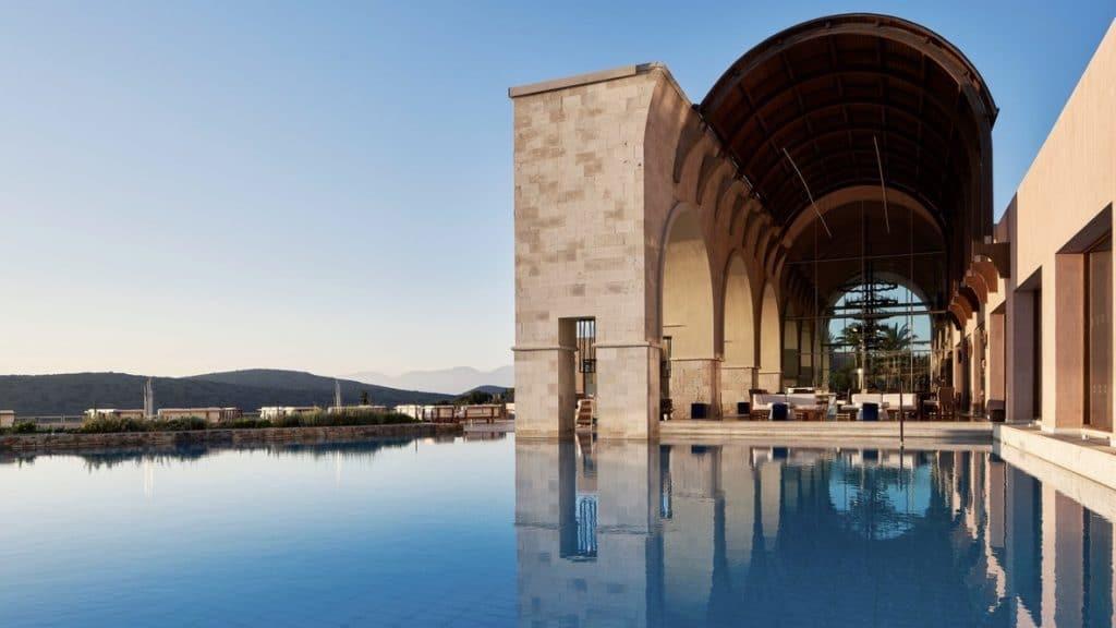 Blue Palace Crete, Grèce - piscine