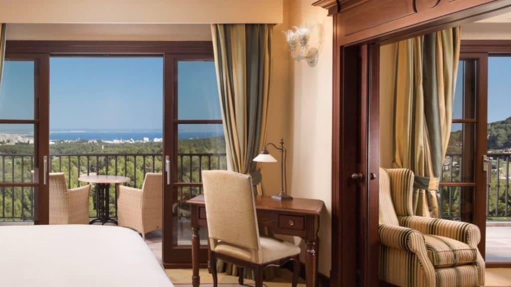 Castillo Hotel Son Vida à Majorque - chambre