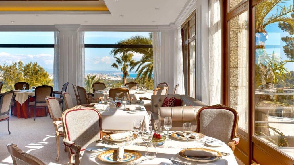 Castillo Hotel Son Vida à Majorque - restaurant