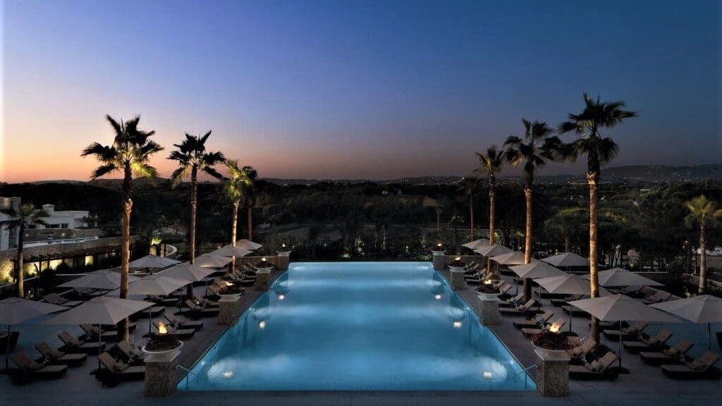 Conrad Algarve piscine