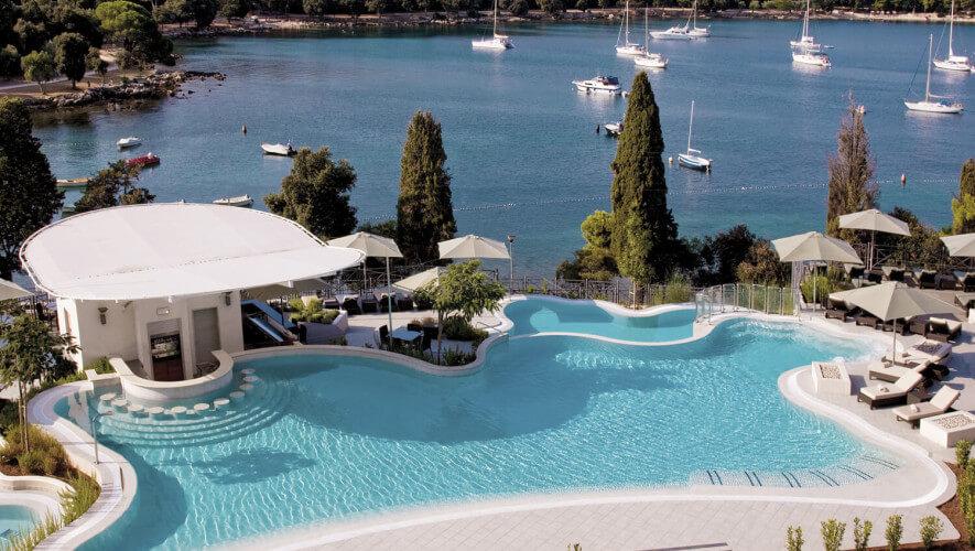 Hotel Monte Mulini, Croatie - piscine